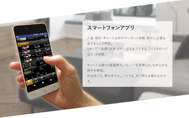 FXプライムのアプリの特徴