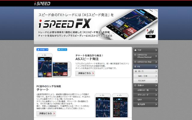 楽天FXのアプリの特徴